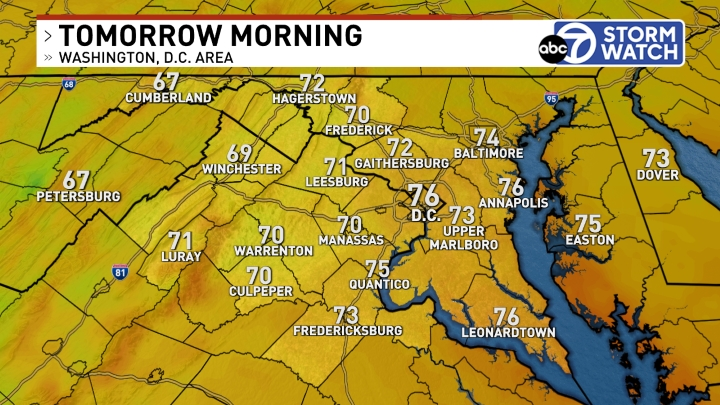 Washington, D.C. Area Maps | News, Weather, Sports, Breaking News | WJLA
