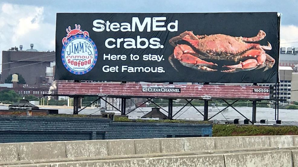 Jimmy's Famous Seafood responds to PETA with their own crab ...