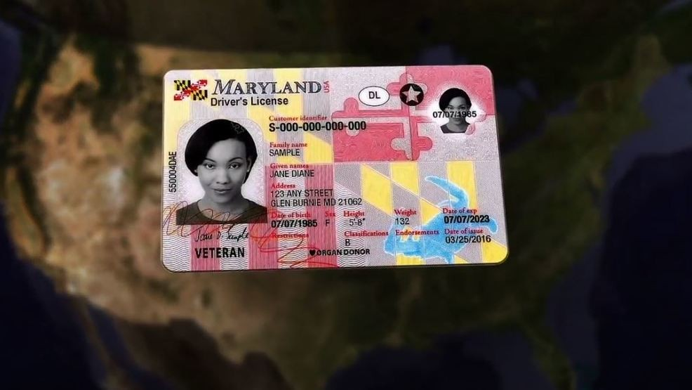 Wjla Maryland Residents Frustration Creating License Driver's Requirements New Amongst
