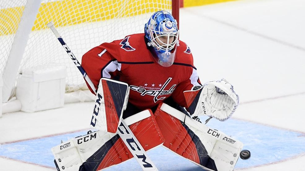 2e40bddfb8c Capitals sign goalie Pheonix Copley to 3-year