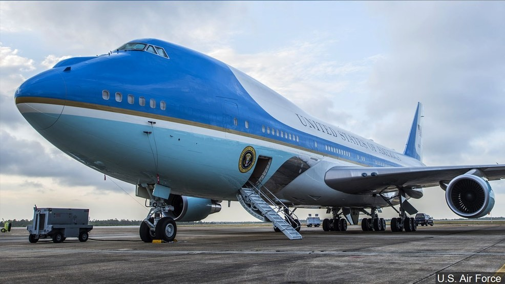 4afaf22a2 Trump: New Air Force One to get red, white and blue makeover | WJLA