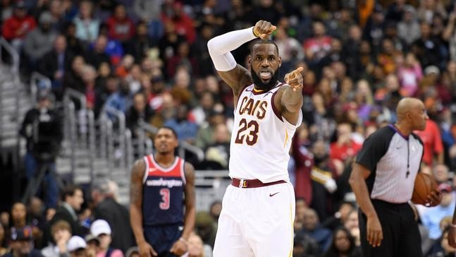 b3deacab66b4 5. VIEW ALL PHOTOS. Cleveland Cavaliers forward LeBron James  shoes are  emblazoned with