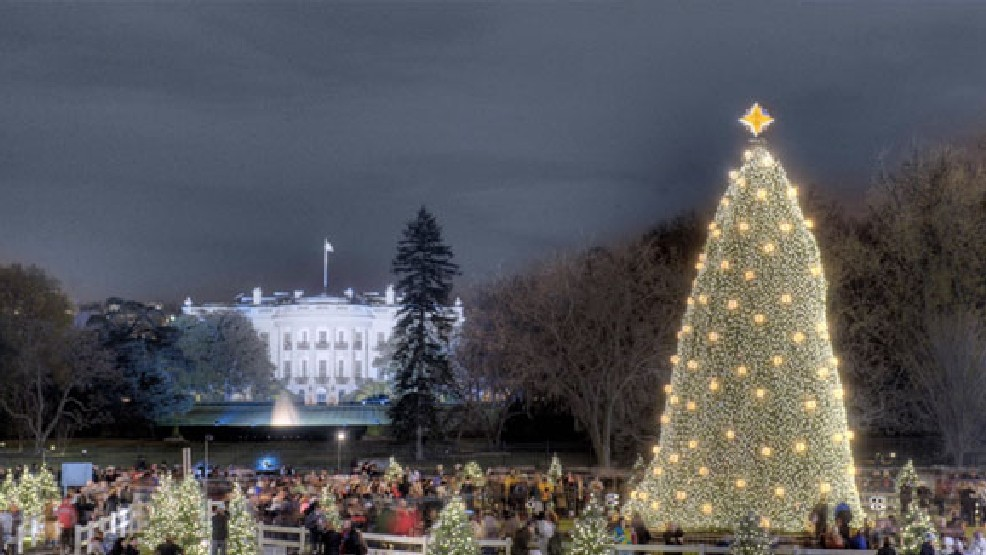 National Christmas Tree Lighting.Lottery Open For Tickets To The National Christmas Tree