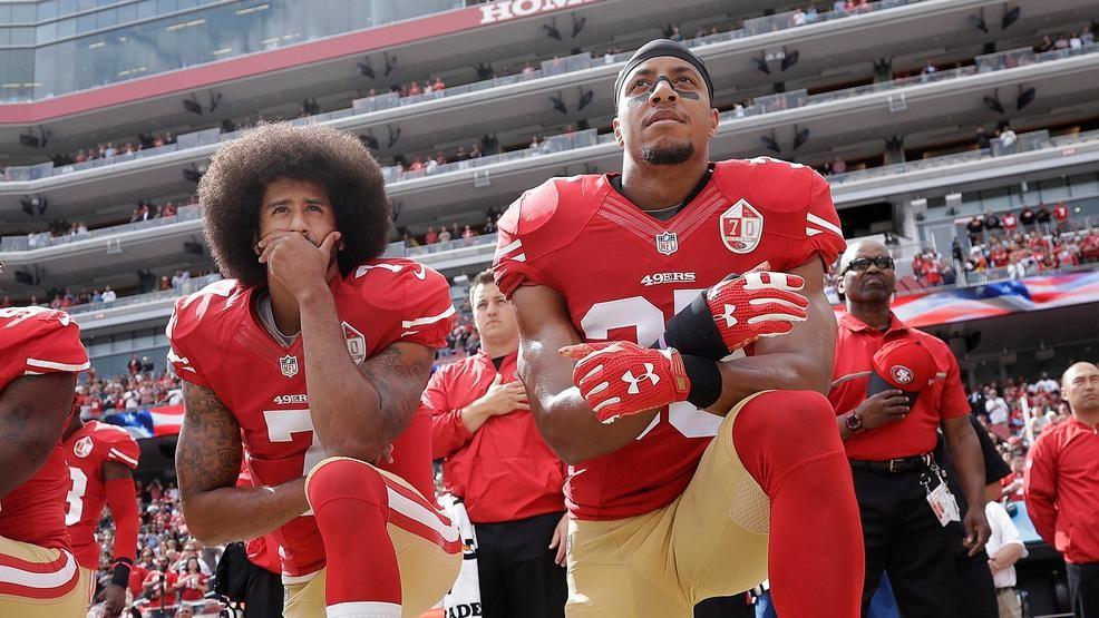 Eric Reid  ndash  who protested alongside Kaepernick  ndash  back in NFL  after signing with Panthers 7b6804e57