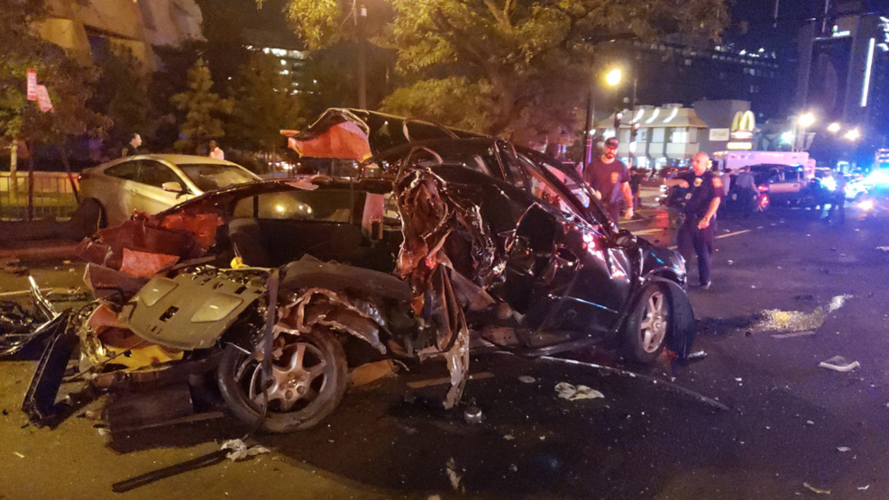 DC Fire: 6 vehicles involved in serious crash in Northeast