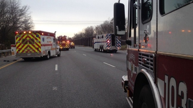 Police: Man dies after serious crash on I-95 in Laurel, Md