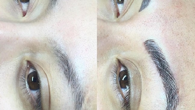 09a5a93771b The popular brow trend that women are paying hundreds of dollars for ...