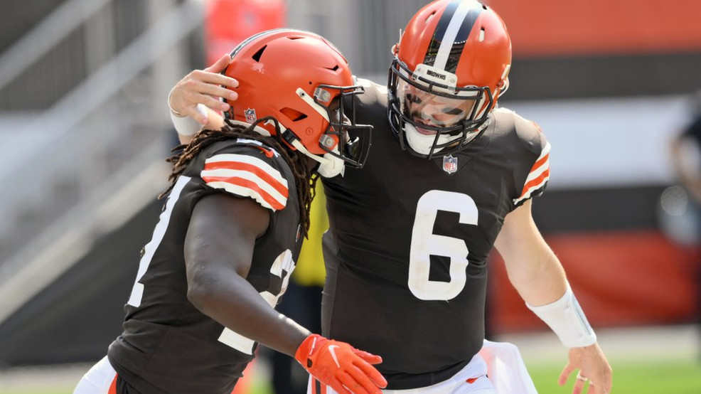 Baker Mayfield, Nick Chubb lead Browns in dominant win over Washington  34-20 | WJLA