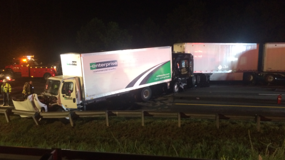 2 different tractor trailer accidents in Virginia cause backups on I