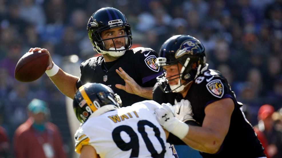 Ravens in a tailspin as loss to Steelers marks 3rd straight defeat ... 450add79f