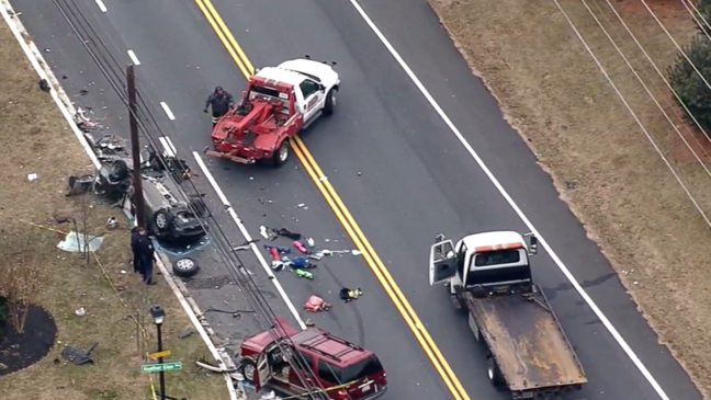 Fatal collision under investigation in Maryland, police say