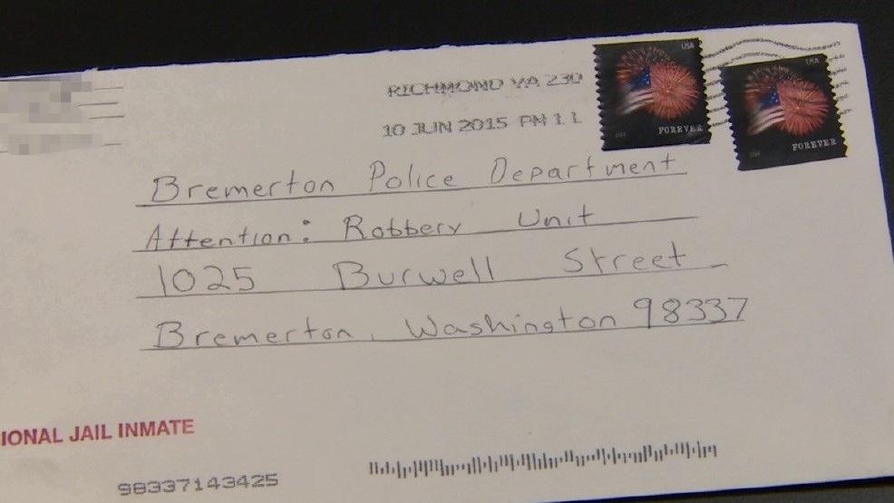 Inmate's letter to police leads to break in cold case robberies | WJLA