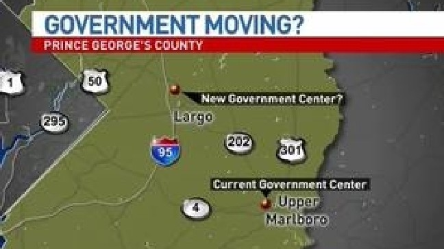 Will Prince George's County government headquarters move out of Upper Marlboro?