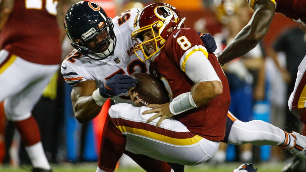 premium selection aabb3 11121 Redskins fall to 0-3 after 31-15 loss to Bears on Monday ...