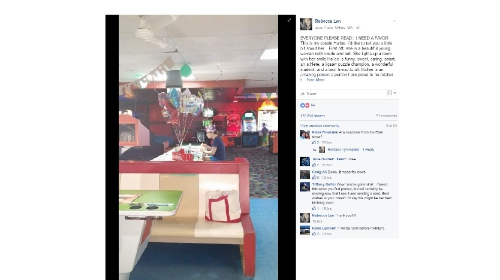 Moving Facebook Post Asking Strangers To Send Birthday Cards Autistic Teen Goes Viral