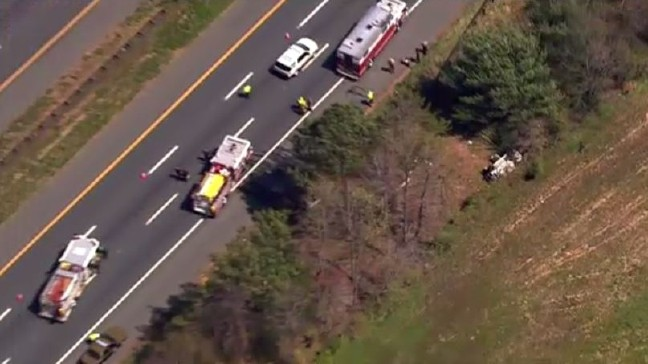 1 killed in single vehicle accident along Route 50, fire officials