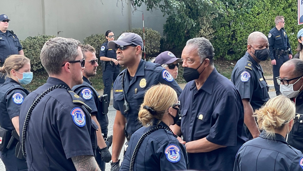 Jesse Jackson and William Barber II Among Voting Rights Protesters Arrested in D.C.
