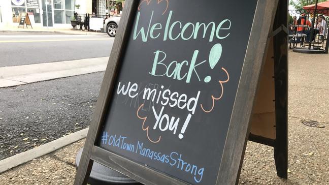 Northern Virginia Restaurants Reopen To