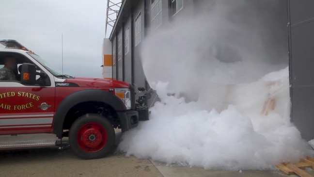 DOD is spending millions, getting rid of toxic foam by burning it near where people live