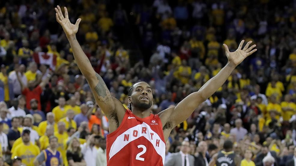 d6c9b34bd02 'We the North': Raptors hold off Warriors in Game 6 to capture their first  NBA title
