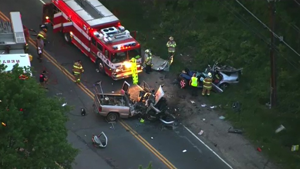 PHOTOS: 5 people injured, 2 critically in Maryland car accident | WJLA