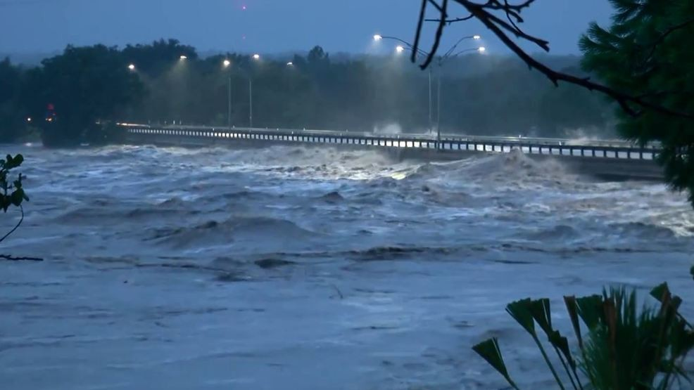 VIDEO: Bridge collapses from 'catastrophic flooding' on Llano River in Texas