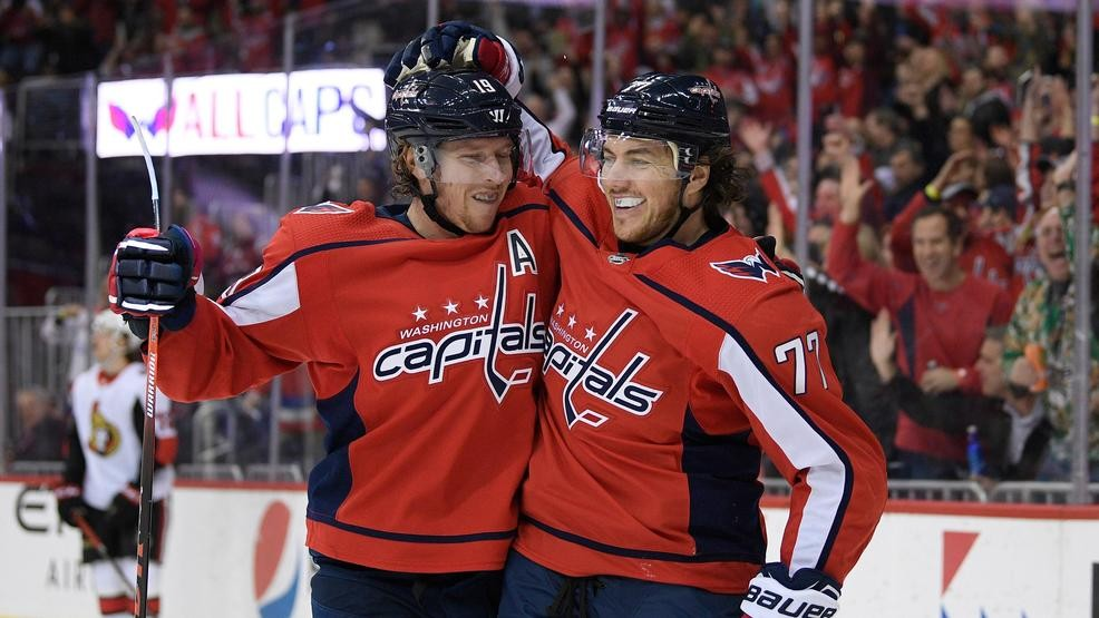 Capitals trail by 2 before roaring back to rout Senators  8552e2947bb6