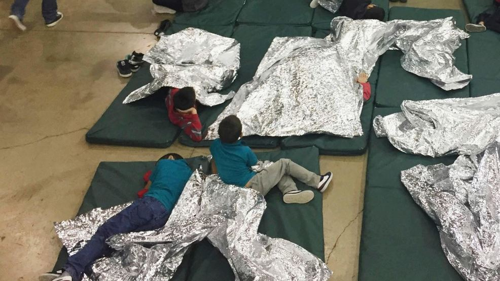 What are the silver blankets immigrant children use at