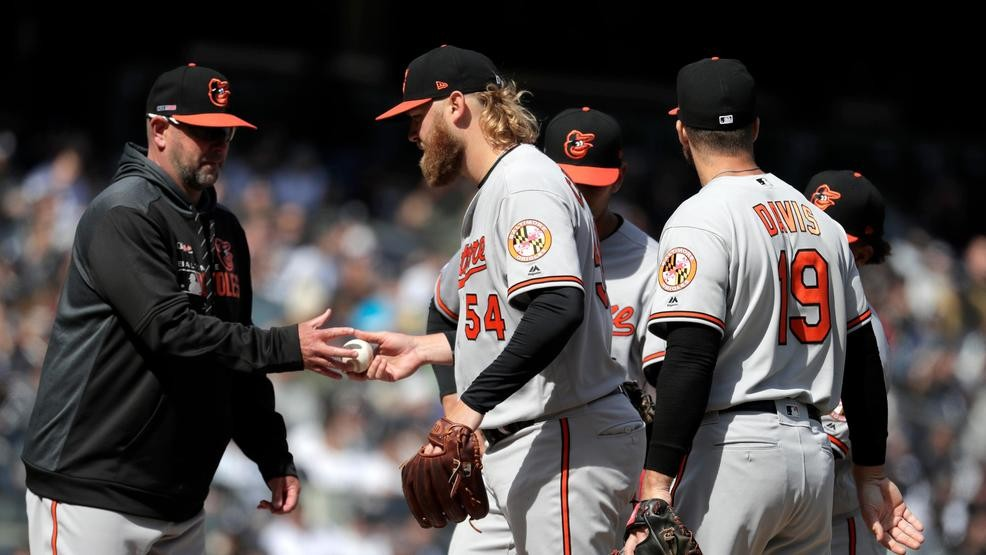 d34b5c92e Orioles lose to Yankees on Opening Day as Andrew Cashner struggles ...
