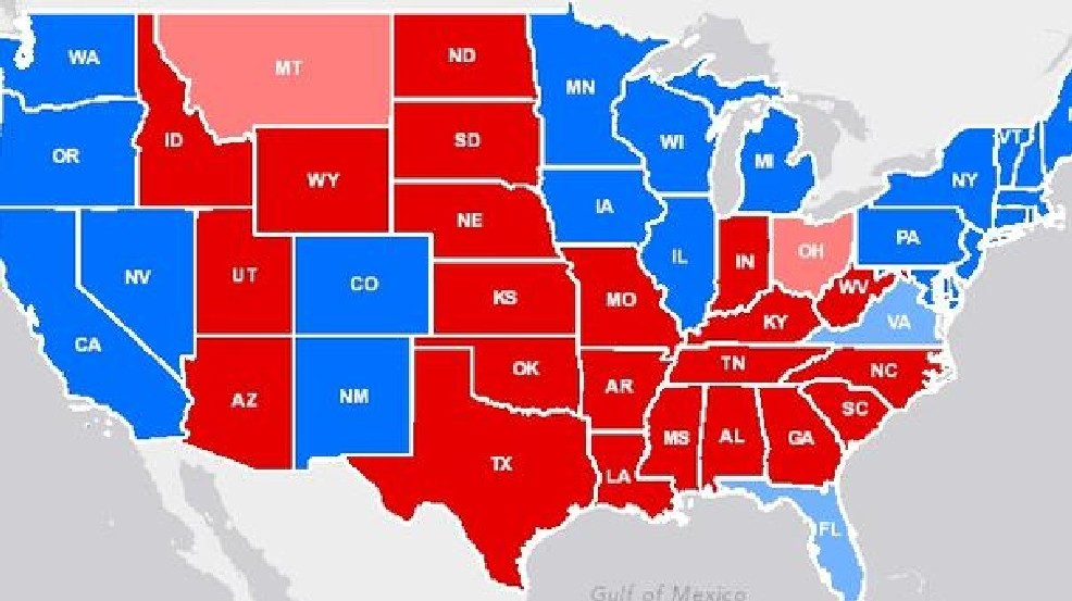 Presidential Election 2012 Electoral College Map For Barack Obama