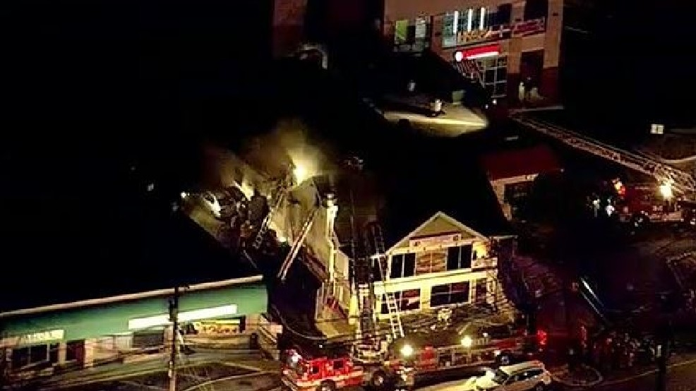 Officials: 75 firefighters battle fire, heavy smoke coming from Md